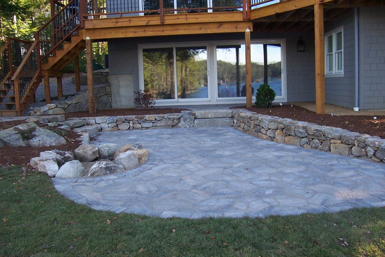 After Paver Patio and Firepit