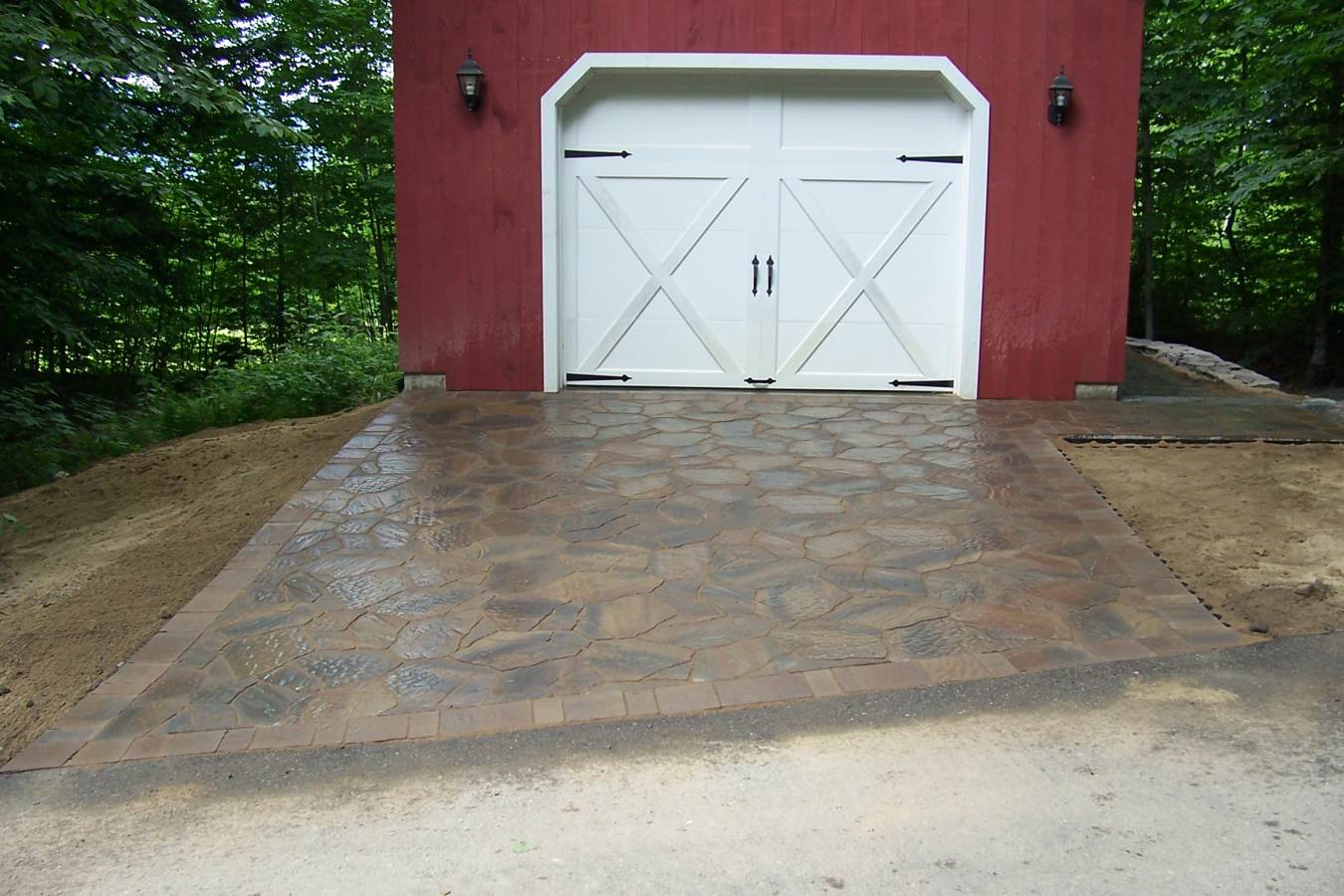 After Paver Driveway